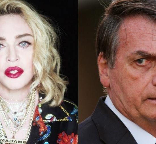 Madonna crítica o presidente Bolsonaro pelas queimadas na Amazônia (Foto: Reprodução)