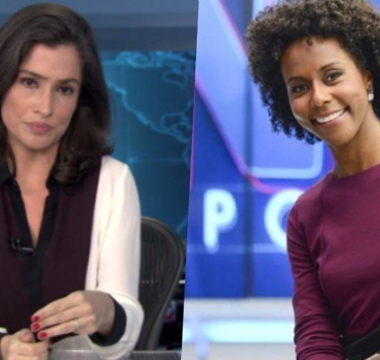 Maju Coutinho é apontada como substituta de Renata Vasconcellos no Jornal Nacional (Reprodução)