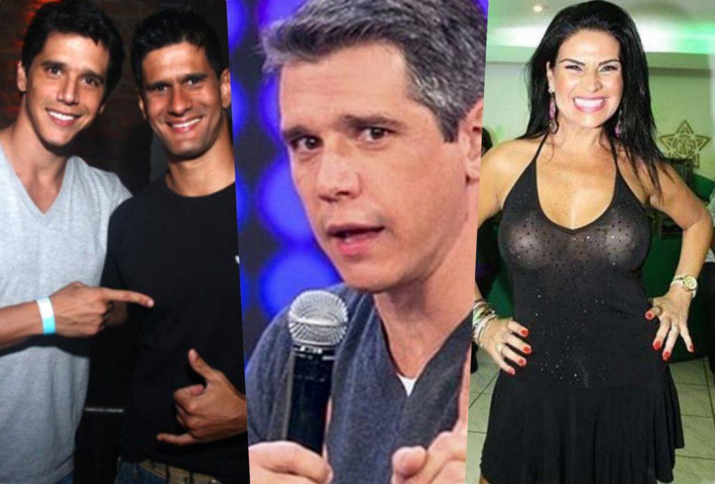 Marcio Garcia teria feito sexo com o irmão e Solange Gomes que fez novas revelações (Foto reprodução)