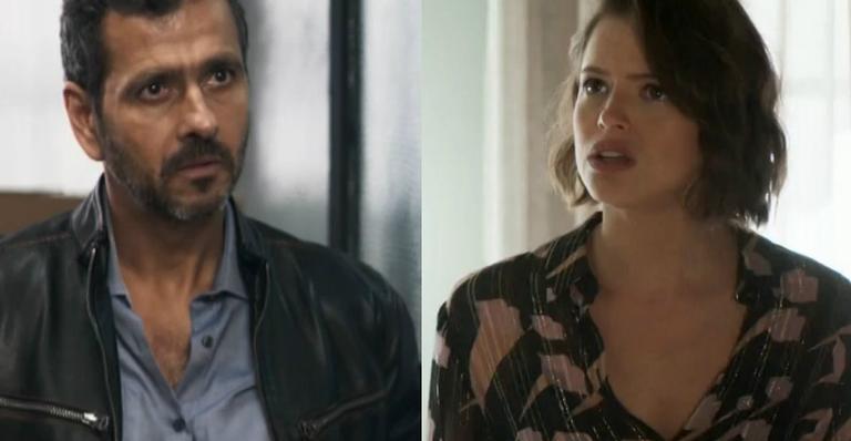 Amadeu (Marcos Palmeira) enfrentará Josiane (Agatha Moreira) em A Dona do Pedaço (Foto: Divulgação)