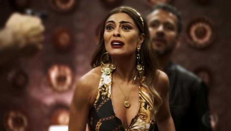 Juliana Paes é Maria da Paz e terá cenas difíceis em A Dona do Pedaço na Globo (Foto: Reprodução)