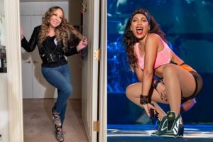 A cantora Mariah Carey começou seguir Anitta no Instagram (Foto: Reprodução)