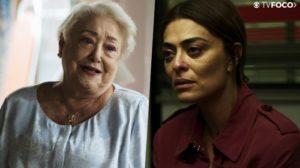 Marlene pode ser a maior decepção da vida de Maria da Paz em A Dona do Pedaço da Globo