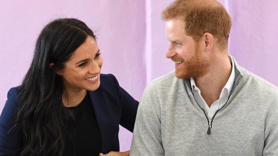 Duquesa Meghan Markle e seu esposo príncipe Harry (Foto: Reprodução)