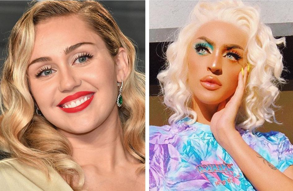 Miley Cyrus reposta vídeo de Pabllo Vittar ouvindo sua música e lavanta suspeitas de uma parceria entre as duas (Foto: Reprodução)