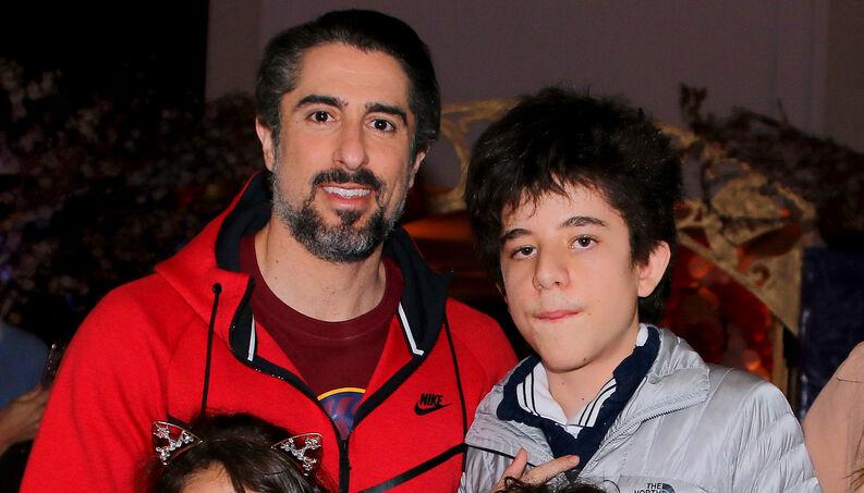 Marcos Mion e Romeo, o seu filho autista (Foto: Reprodução)