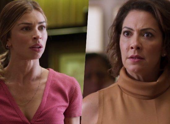 Paloma (Grazi Massafera) e Nana (Fabiula Nascimento) brigam de novo em Bom Sucesso da Globo