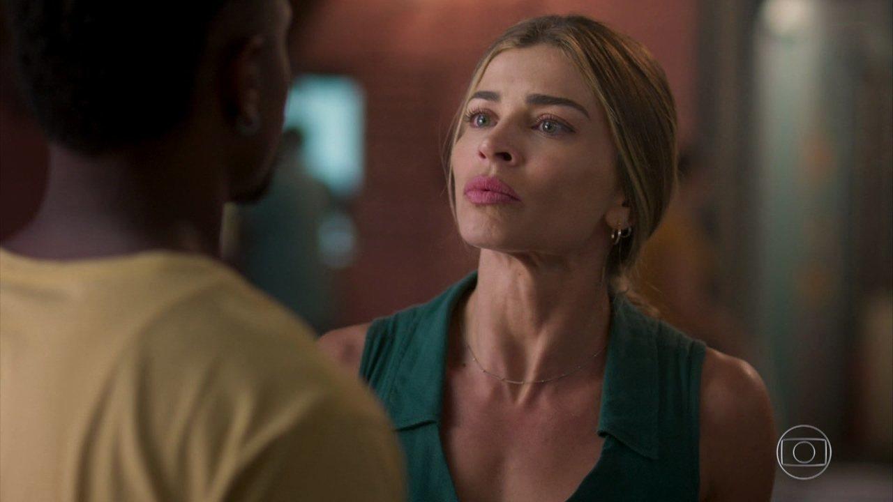 Paloma enfrenta Ramon em Bom Sucesso da Globo