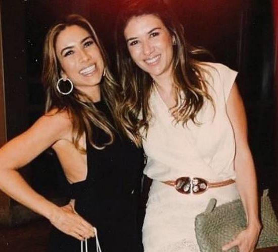 Patrícia Abravanel e Rebeca Abravanel revelaram detalhes da relação de irmãs