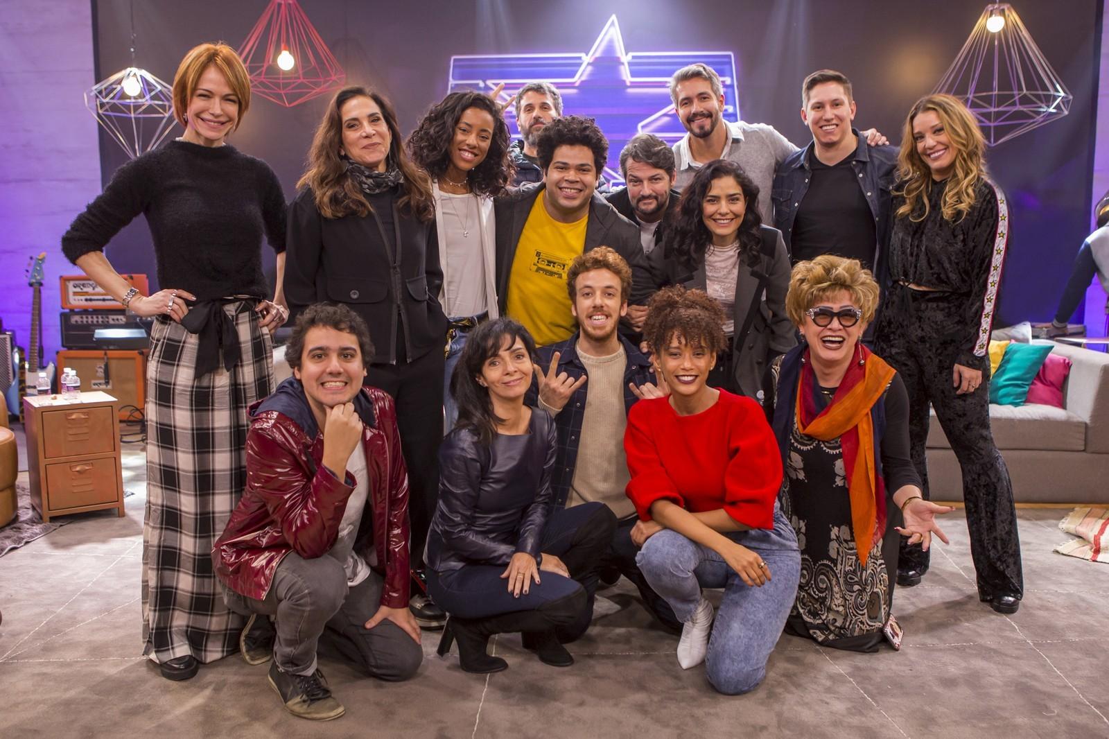 Elenco de PopStar, da Globo. (Foto: Artur Meninea / Globo)