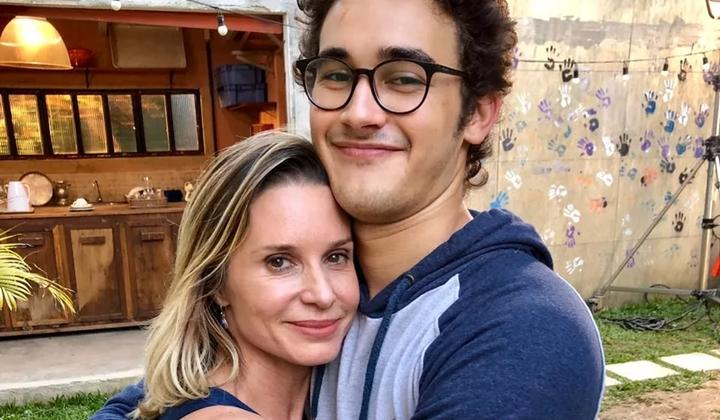 Letícia (Paula Burlamaqui) e Benjamin (Filipe Bragança) viverão romance em Órfãos da Terra. (Foto: Arquivo pessoal)