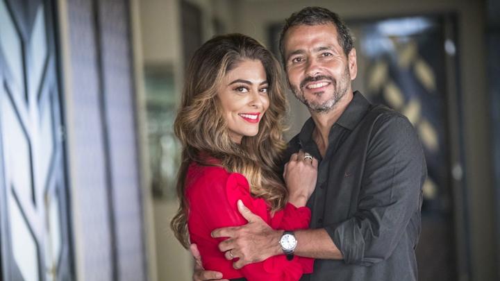 Juliana Paes e Marcos Palmeira em A Dona do Pedaço. (Foto: Divulgação)