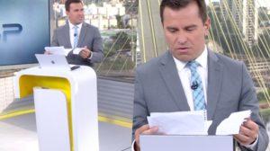 Rodrigo Bocardi do Bom Dia São Paulo resolveu ler cartas enviadas e surpreendeu (Foto reprodução)