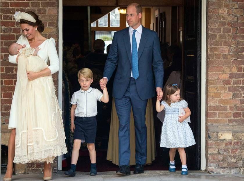 Kate Middleton, príncipe Willian e filhos (Foto: Reprodução)