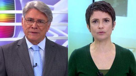 Sérgio Chapelin deixa o comando do Globo Repórter e Sandra Annenberg assume o programa ao lado de Gloria Maria (Foto: Reprodução/Globo)