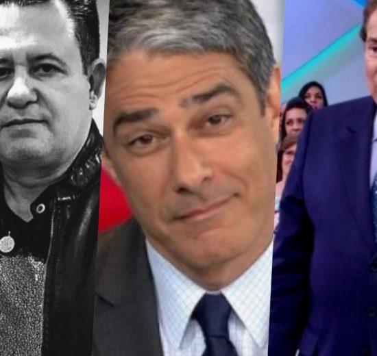 Marrone, William Bonner e Silvio Santos são os assuntos mais bombados
