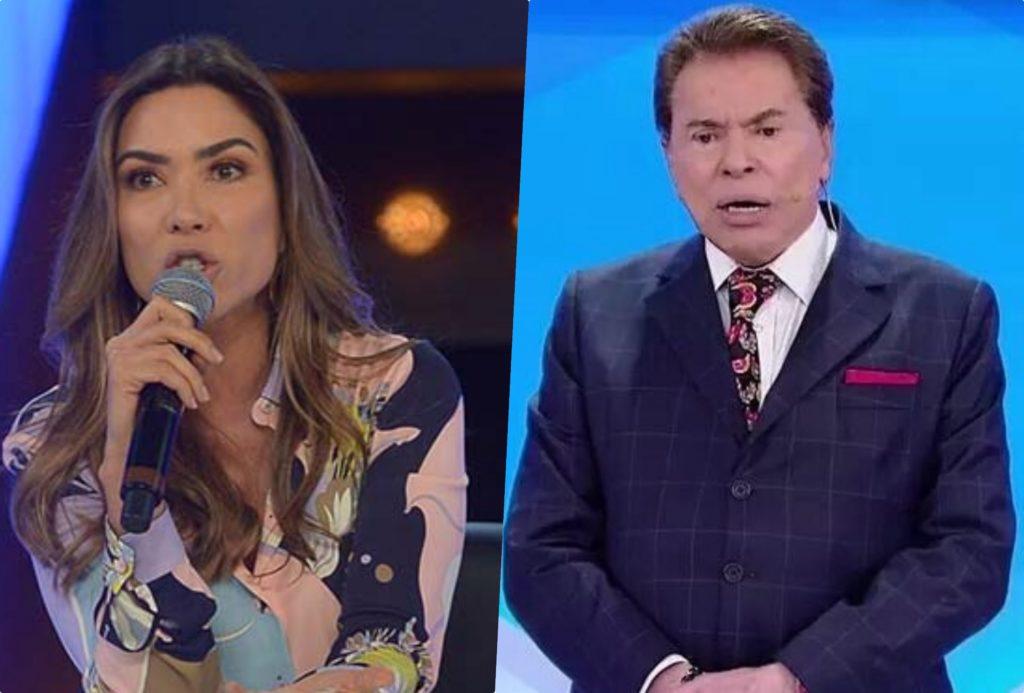 Patrícia Abravanel levou uma bronca de Silvio Santos durante gravação do piloto do Topa ou Não Topa no SBT (Foto reprodução)