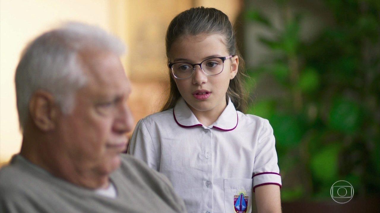 Sofia teme perder Alberto em Bom Sucesso da Globo
