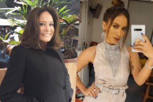 Susana Vieira e Anitta tiveram climão nos bastidores do Criança Esperança na Globo