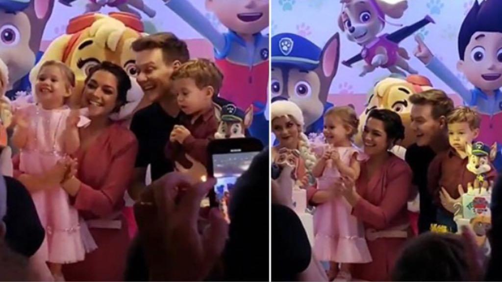 Thais Fersoza e Michel Teló comemoram os aniversários dos filhos Teodoro e Melinda (Imagem: Instagram)