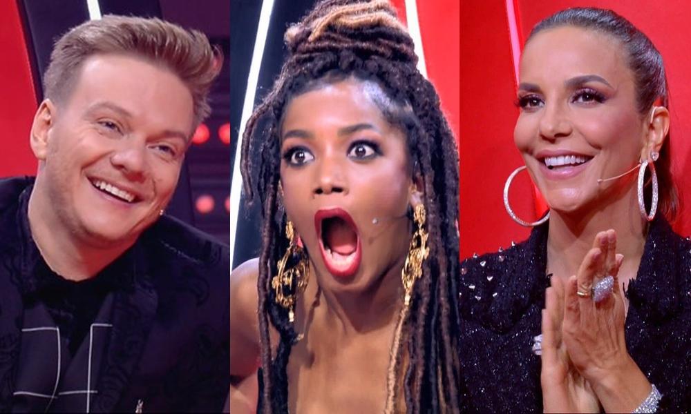 The Voice Brasil aumentou a audiência da Globo na noite desta terça-feira e deixou emissora no topo do ranking logo no inicio do mês.