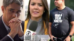 Wiliam Bonner, Repórter da Globo e Ronaldo estão nas bombadas do dia