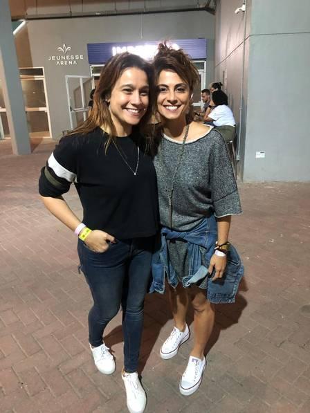 Fernanda Gentil e Priscila Montadon (Foto: Extra)