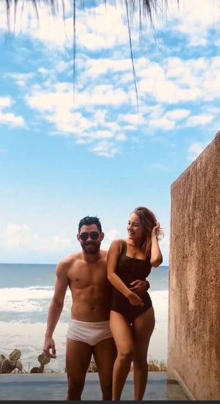 Karol Calheiros relembra relação com Gabriel Diniz Foto: reprodução/instagram