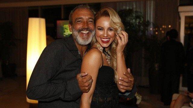 Paolla Oliveira e Papinha, ainda quando namoravam. Foto: Reprodução