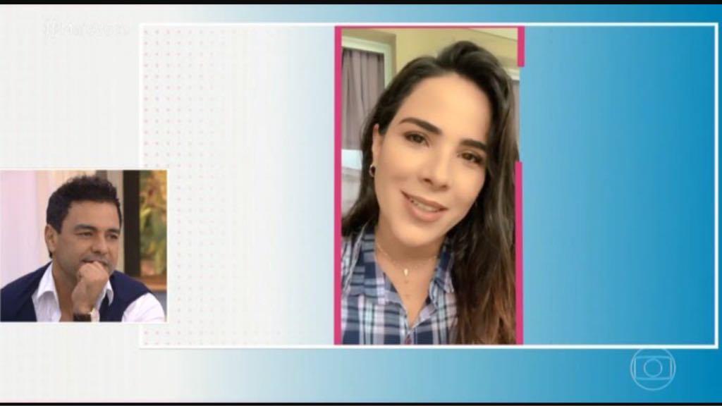 Wanessa Camargo faz homenagem emocionante para o paiZezé Di Camargo no programa de Ana Maria Braga (Imagem:Globo)