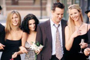 Elenco da série Friends (Foto: Reprodução)