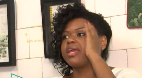 A atriz Carla Cristina Cardoso abriu o jogo sobre a agressão que sofreu nos bastidores do show da cantora Ludmilla. (Foto: Reprodução)