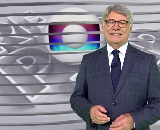 Sergio Chapelin no comando do Globo Repórter, que teve recorde de audiência (Foto: Reprodução/Globo)