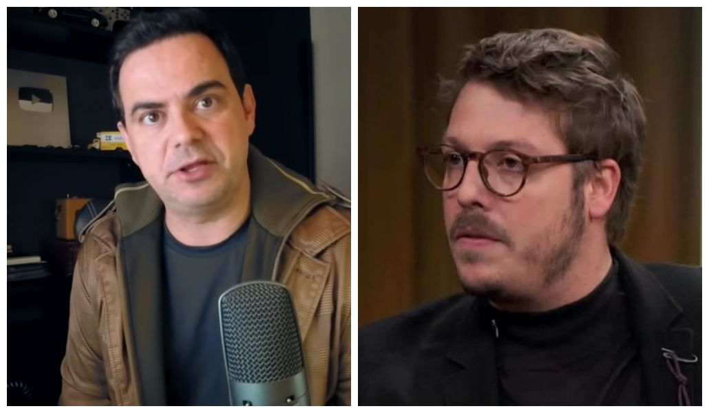 Carioca e Fábio Porchat trocaram farpas nas redes sociais (Foto: Reprodução/ Montagem TV Foco)