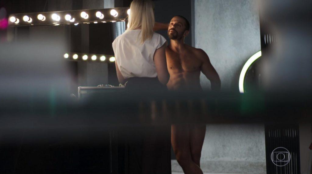 Duda Nagle em cena na novela A Dona do Pedaço, da Globo. (Foto: Reprodução)