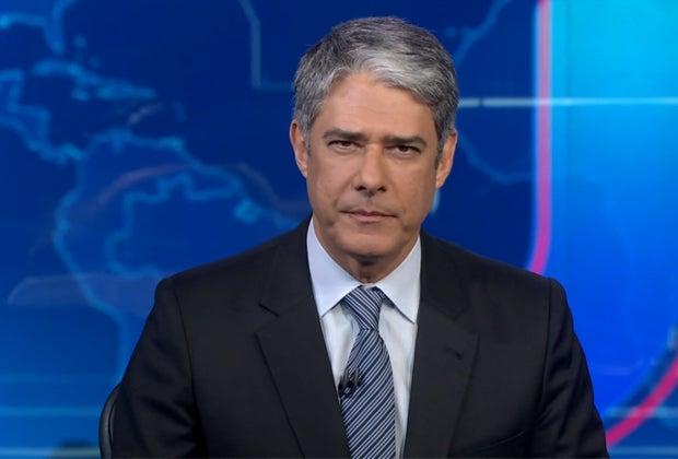 O apresentador do Jornal Nacional da Globo, William Bonner traí antigo âncora (Foto: Divulgação)