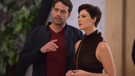 Lima e Sophia na trama de Topíssima da Record