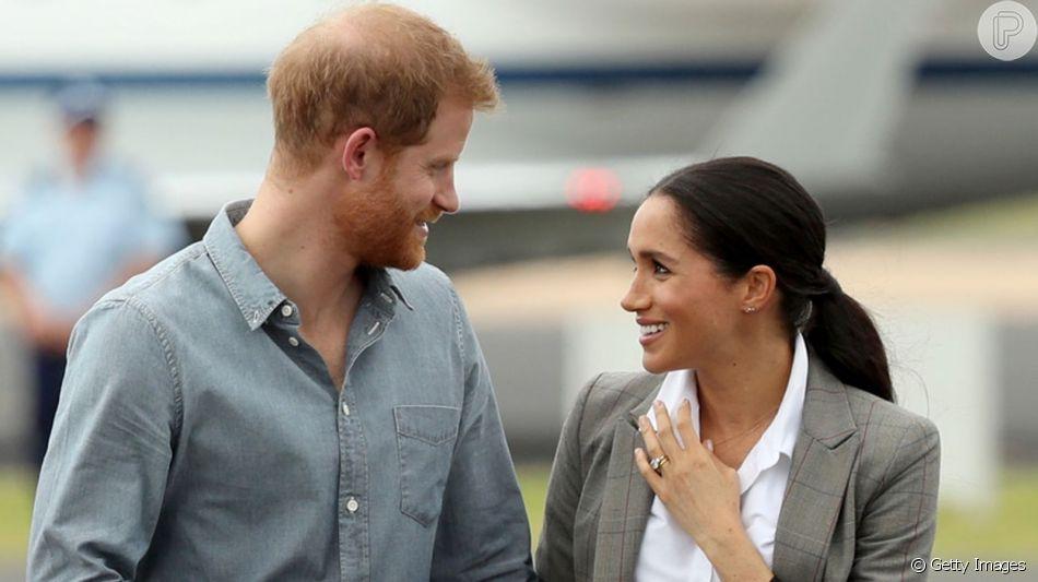 Príncipe Harry e Meghan Markle farão viagem a África (Foto: Reprodução)
