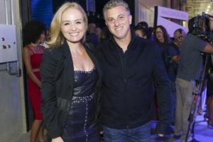 Angélica e Luciano Huck na inauguração do novo complexo de estúdios da Globo (Foto: Globo/Reginaldo Teixeira)