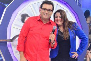Geraldo Luís e Fabíola Reipert estarão juntos no programa Balanço Geral (Foto: Reprodução)