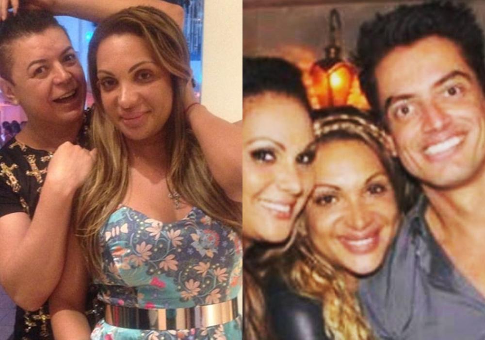 Flávia Costa movimentou as redes sociais de Leo Dias, David Brazil e Antonia Fontenelle na última quinta-feira. (Foto: Reprodução/Montagem)