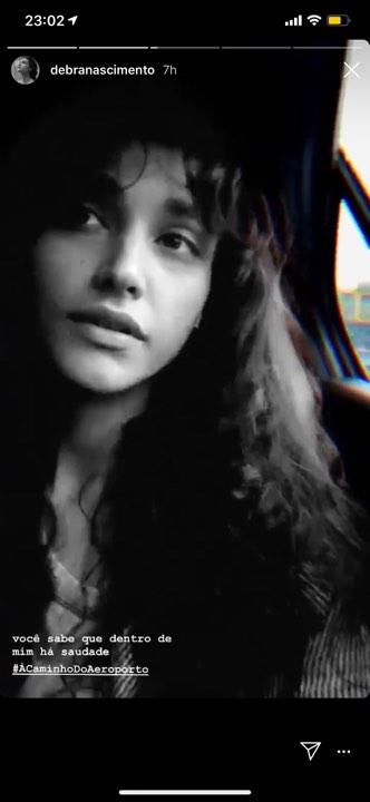 Débora Nascimento falou sobre saudades de sua filha, Bella (Reprodução)