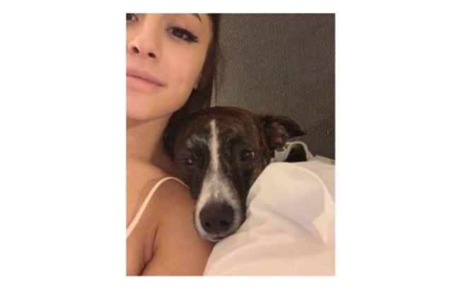 Ariana Grande  e Myron no hotel (Foto: Reprodução)