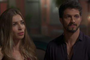 Grazi Massafera (Paloma) e Romulo Estrela (Marcos) em cena da novela Bom Sucesso, que teve sua pior audiência (Foto: Reprodução/Globo)