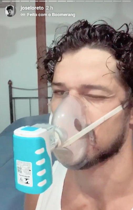 José Loreto enfrenta problema de saúde (Foto: Reprodução/ Instagram)