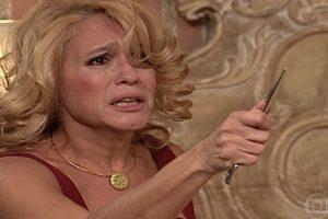 Susana Vieira (Branca) em cena da novela Por Amor, que superou audiência de Malhação (Foto: Reprodução/Globo)