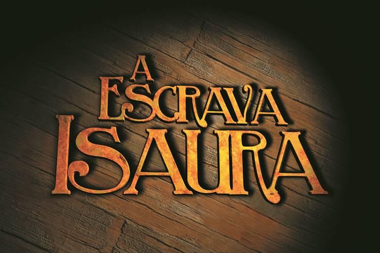Logo Novela A Escrava Isaura (Imagem: Divulgação/Record)