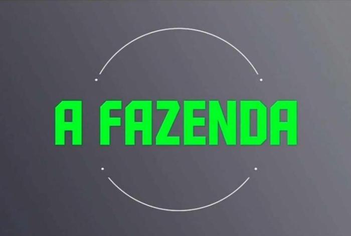 Logo A Fazenda (Imagem: Divulgação/Record)