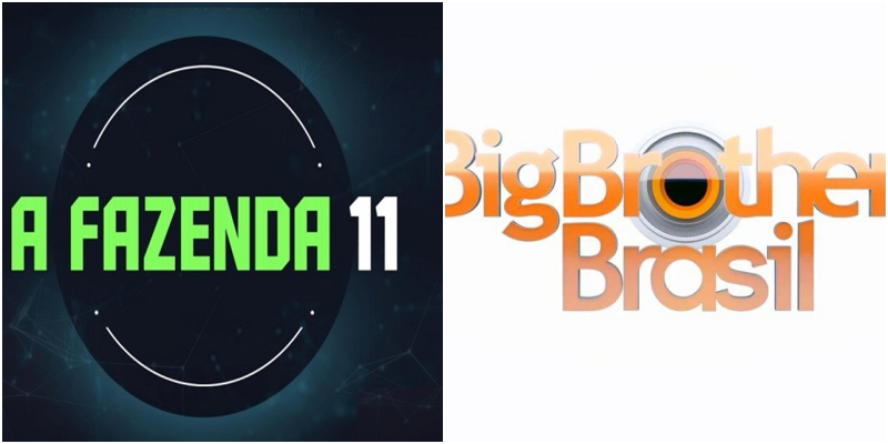 Record luta para conseguir alcançar Big Brother Brasil da Globo (Foto: Montagem TV Foco)