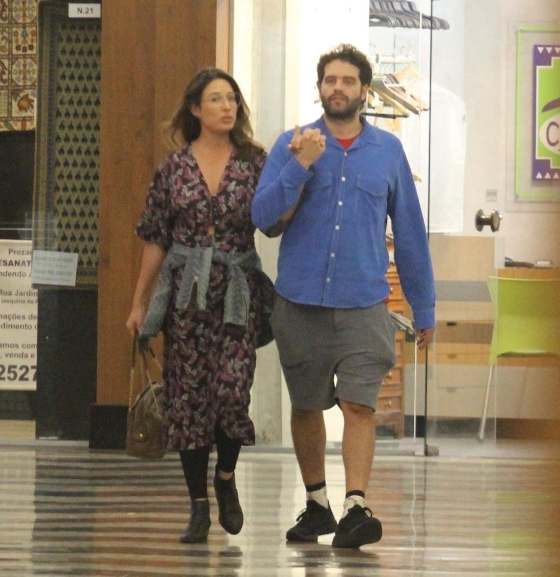 Giselle Itié e Guilherme Winter (Foto: Rodrigo Adão/AgNews)